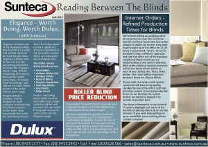 Sunteca July Newsletter 2014